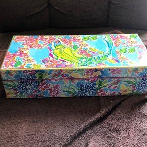 New Lilly Pulitzer Jewelry box